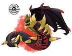 Mega Giratina (Evil Origin Forme)