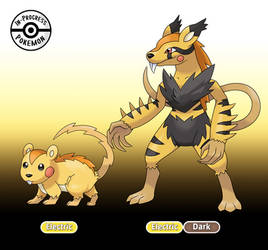 025 - 026 Scurrent and Electrodent by InProgressPokemon
