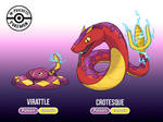 Fakemon - Virattle and Crotesque