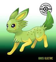 Dual-Type Eeveelutions - Citreon (Grass/Electric)