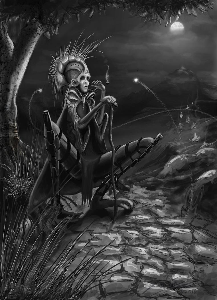 Alien Shaman by Increality