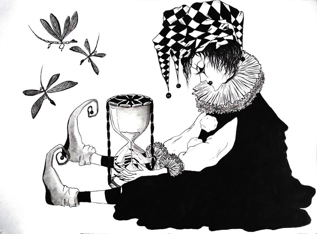 Pierrot by kodoku-no-mori