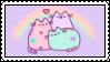 Rainbow Pusheens by Stampzone