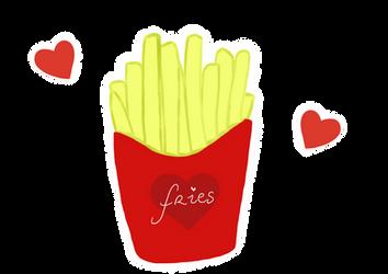 Fries by Blackrystall