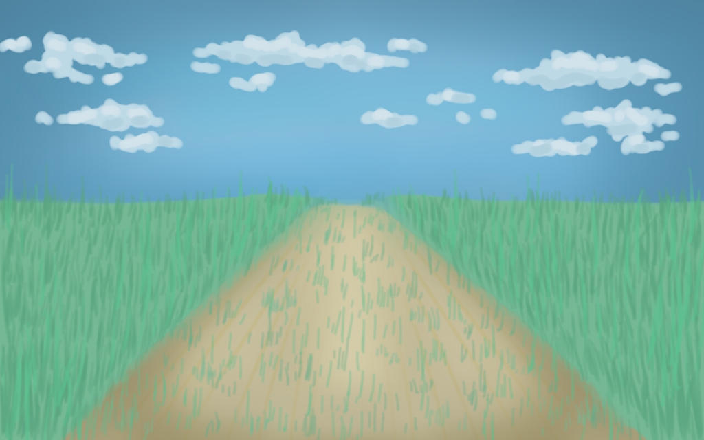 Perspective: Sketch a Road by DarkPawsOfLight