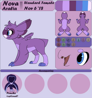(OUTDATED) Nova's Wyngling Ref by Ink-Shira