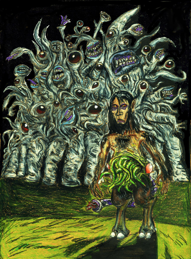 The Dunwich Horror by jackrezz on DeviantArt