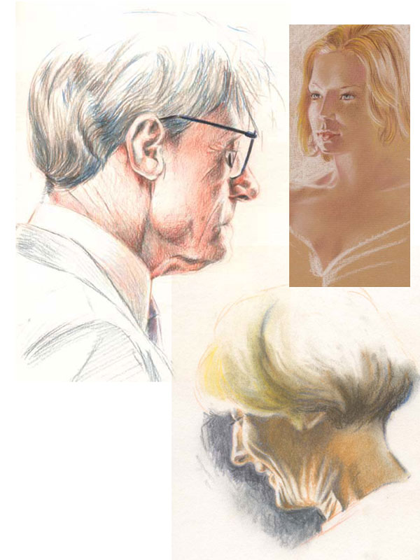 Portraits by handtoeye