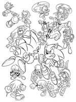 Summer of Sonic 2011 print by handtoeye