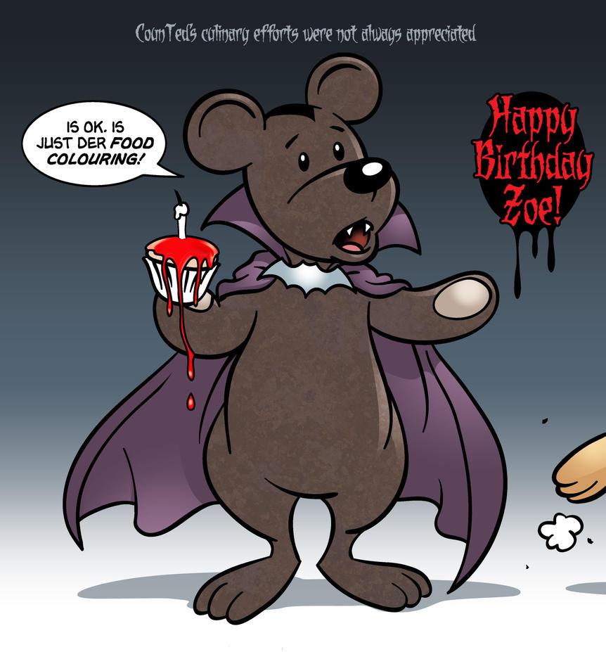 Happy Birthday Zoe By Handtoeye On DeviantArt