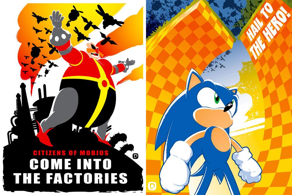 Sonic prints 2012 by handtoeye