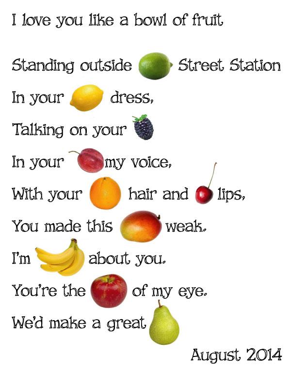 I Love Fruits - Best Image Atlproms.com