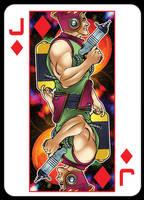 Jack of diamonds by handtoeye