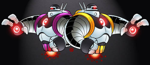 Ram And Rom Colour by handtoeye