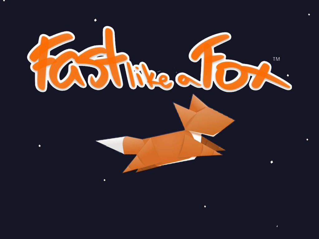 Fast Like A Fox Wallpaper by hithereev3ryone