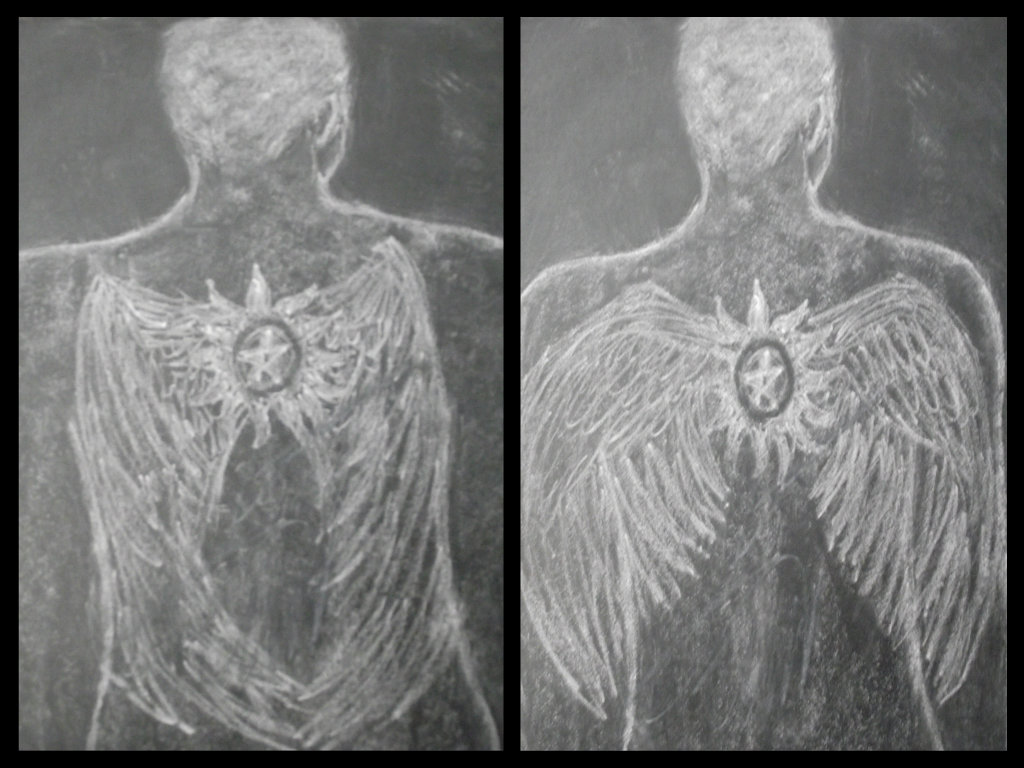 Cas Anti-Possession Tattoo w/ Wings by decaygirl13 on DeviantArt