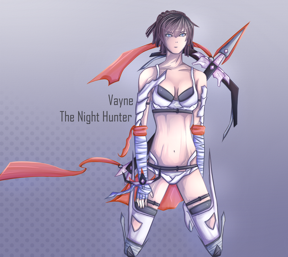 Vayne Fanart: League of Legends by SabuXx