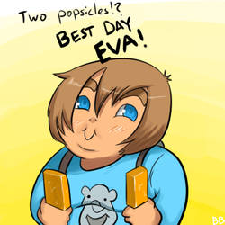 TWO POPSICLES by pyrofire2007