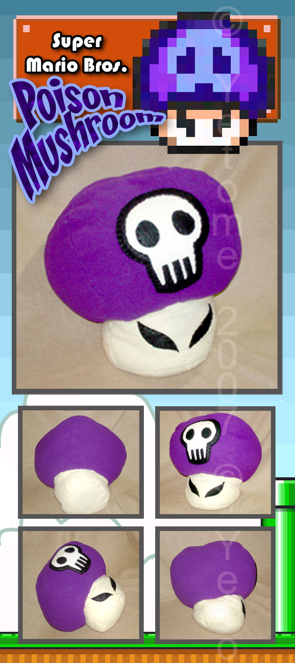 Poison Mushroom By Yetome On Deviantart