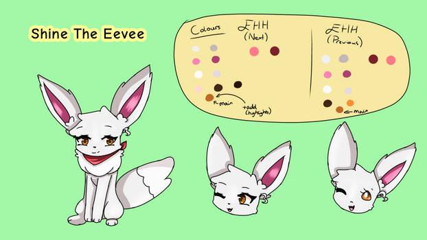 Shine the Eevee -- Cameo