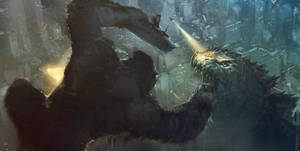 King Kong vs Godzilla in New York