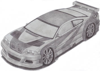 BMW M3 GTR E46