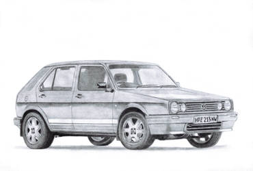 VW Citi Golf Mk1 by LurigoFreefox