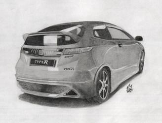 Honda Civic Type-R by LurigoFreefox