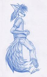 Blue by LurigoFreefox