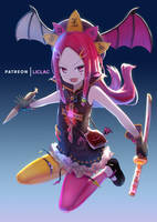 Vampire-chan by Liclac