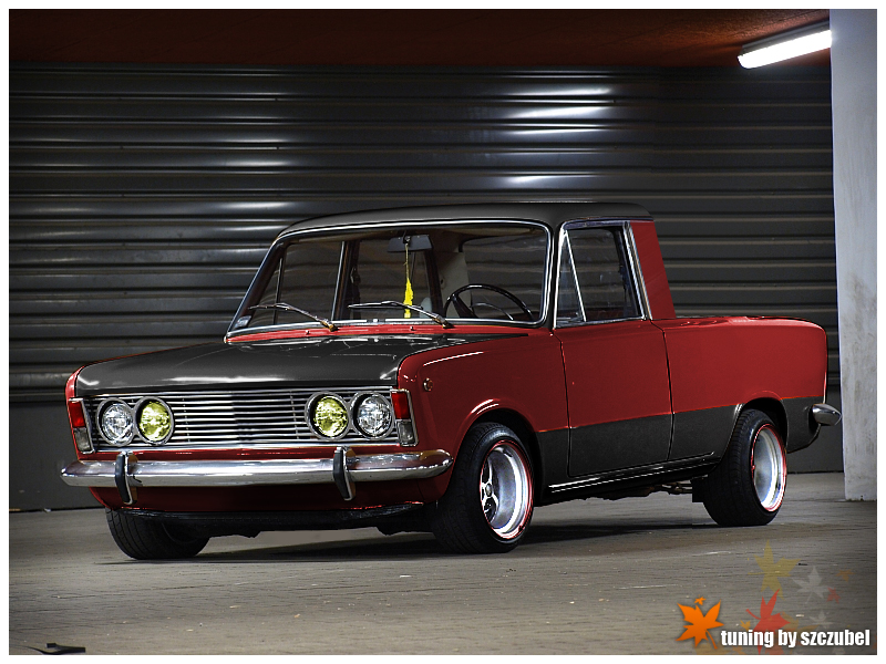 fiat 125p pickup tuning by szczubel on deviantart. Black Bedroom Furniture Sets. Home Design Ideas