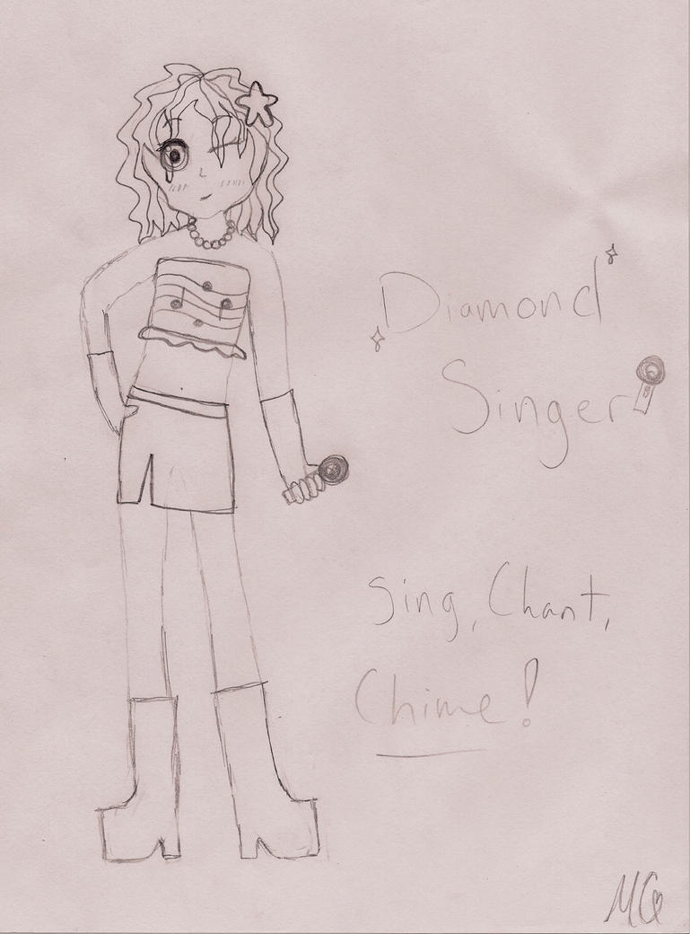 mct  diamond singer by littlephillion on deviantart