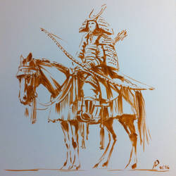 Japanese Warrior by alempe