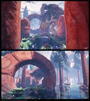 3D Environment: Kveld