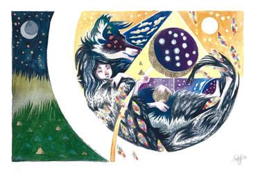 The Moon is an Eye: Art for Hamlin Charity Auction