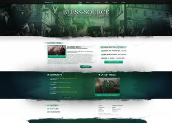 BLESS-Source Design by xDrac