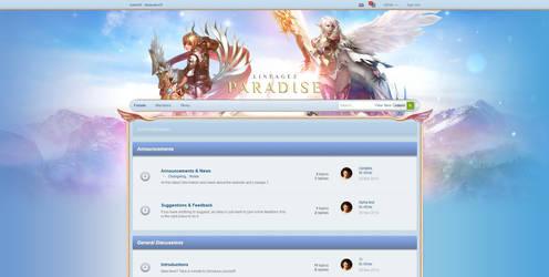 Paradise IPB Design by xDrac