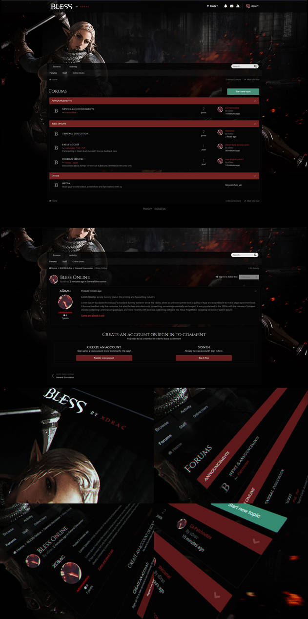 IPS4.2 BLESS Theme Dark
