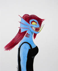 Viperfish Undyne by GDofSeattle