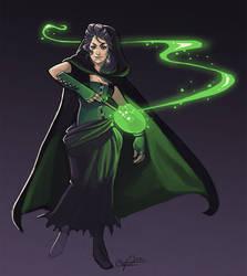 Bellatrix Lestrange by CPatten