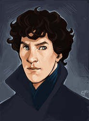 Sherlock study by CPatten