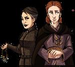 Sansa and Petyr Genderbend