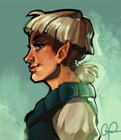 Elf Portrait by CPatten