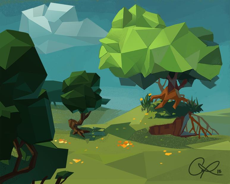 Geometric Tree by CPatten