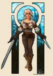 Ciri The Witcher 3: Wild Hunt