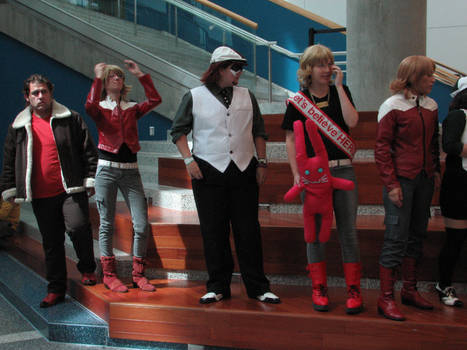 Tiger and Bunny Gathering 2013-Biason feels scared