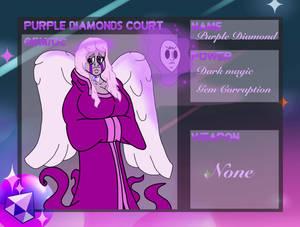Purple Diamond RP Sheet by ShatteredStudio