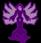 Purple Diamond Mural by ShatteredStudio