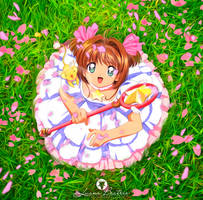 Sakura by LuhaBiha