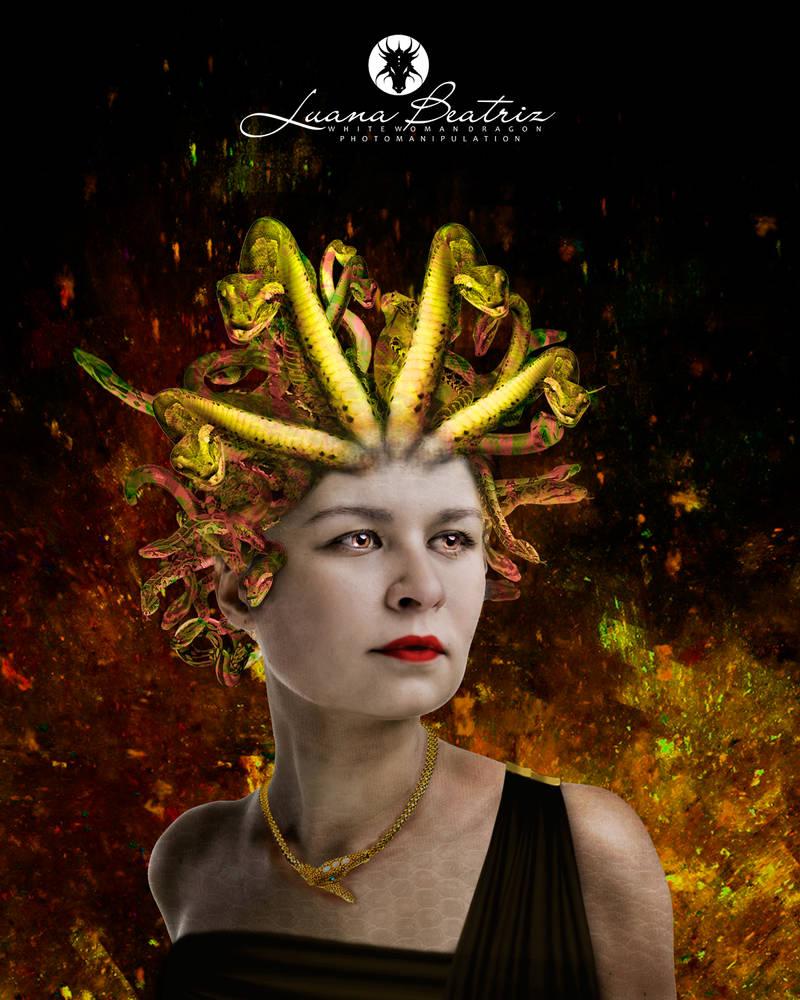 fashion Medusa by LuhaBiha
